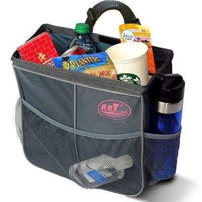 北极象 牛津布汽车椅背储物袋挂袋垃圾袋 车载收纳包