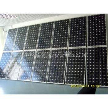 供应供应220瓦单晶硅太阳能光伏板、太阳能电站