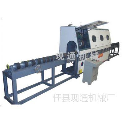河北任县现通机械厂供应全自动圆管抛光机。