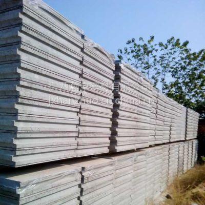 厂家直销 江西瀚卓 轻质隔墙板 防火 隔音 保温材料 聚苯颗粒复合夹芯条板