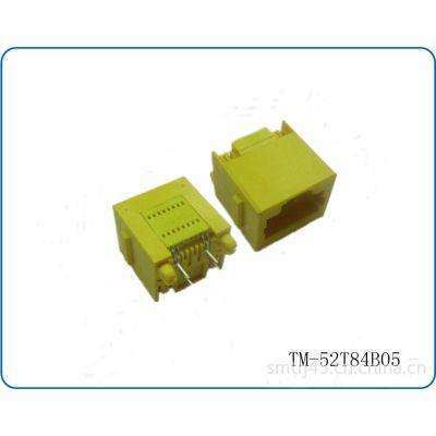 供应RJ45网络连接器直插型,网络连接器可成型式,路由器用网络连接器