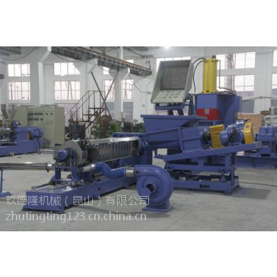 玖德隆机械昆山有限公司供应碳酸钙高填充母料造粒机 内有工厂可参观