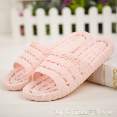 夏季韩版情侣浴室防滑休闲拖鞋男女士软底室内pvc凉拖鞋批发