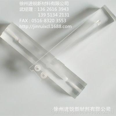 耐酸碱绝缘抗冲击高精度10mm透明PC耐力板厚板深加工