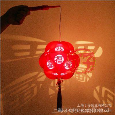 DIY有福红灯笼动手工材料包 羊年中秋节花灯经济版批发