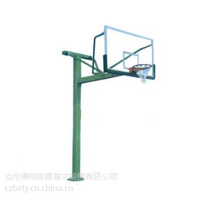 河北沧州博翔户外方管地埋篮球架 篮球架厂家批发直销