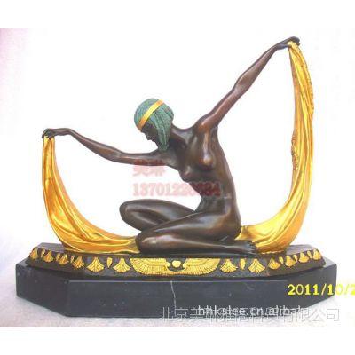 西洋女性雕像,人物铜雕,装饰铜雕摆件,工艺品雕塑 欧式铜像