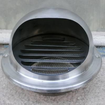 室外防风帽不锈钢烟筒防风帽防虫防雨防风烟道风口