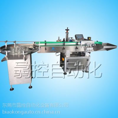 BK-301全自动搓滚式圆瓶贴标机