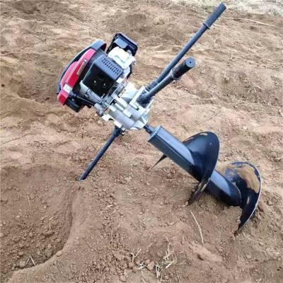 启航牌优质手提式挖坑机 双人大功率地钻 双人植树地钻挖坑机