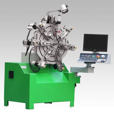 弹簧行业专业设备 神特数控多功能无凸轮弹簧机