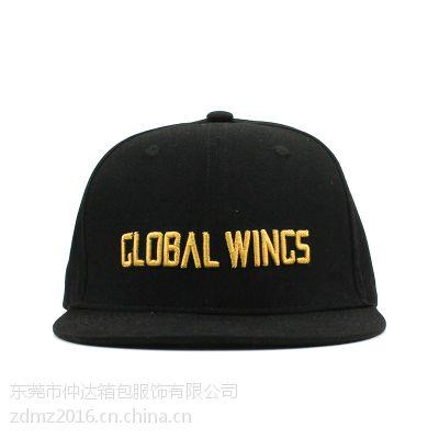 仲达厂家定做全棉平板帽 定制logo商务防晒帽 礼品赠送平板棒球帽