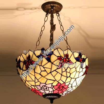 供应欧式灯具卧室反吸吊灯客厅酒吧咖啡厅办公室时尚艺术吊灯26CW