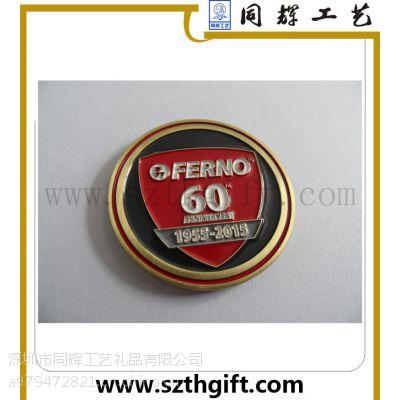 厂家直销 低价定做金属徽章 同辉五金金属徽章制品厂