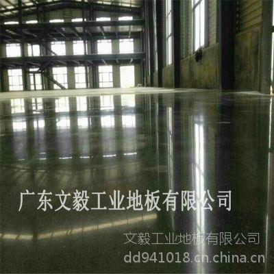 惠州三栋厂房金刚砂地面翻新+耐磨地坪固化处理
