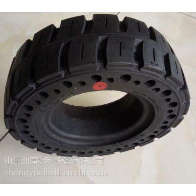 山东中运正品3吨叉车专用三包6.50-10实心轮胎强耐磨和寿命