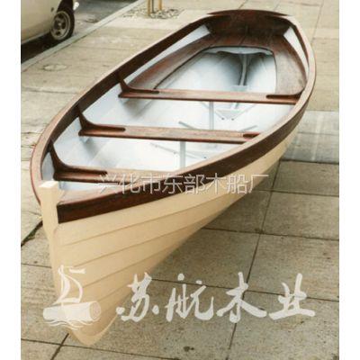 供应公园情侣手划游玩船,欧式风格小木船
