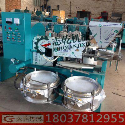 螺旋榨油机商用 大中小型 全自动榨油设备 志乾 大豆菜籽花生榨油机