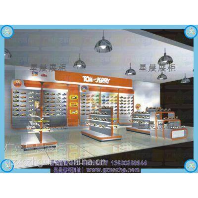 广州星晨展柜厂家定做童装店展柜