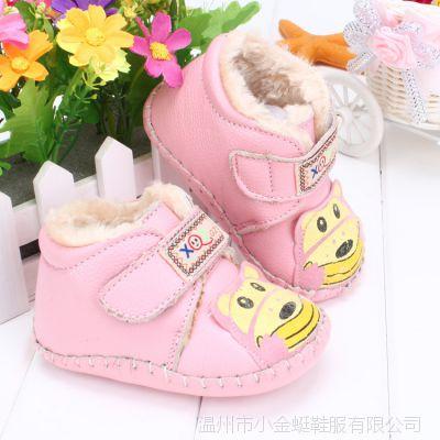 韩国品质高档牛皮凉女童婴儿鞋婴儿牛筋软底宝宝鞋魔术扣学步鞋