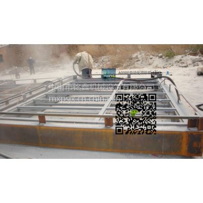 小型移动干式喷砂机除锈喷砂机