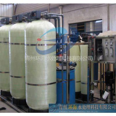 供应0.25吨的反渗透设备、反渗透水处理设备、青州环海水处理