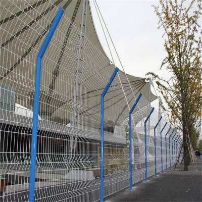 港口码头防护网 金属网墙围网 黄色围网