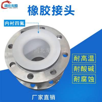 供应山东专业供应软接头衬四氟、橡胶避震器 13613178737