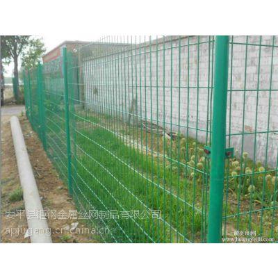 杭州钜钢别墅绿色隔离网网片生产厂家---钜钢丝网生产厂家