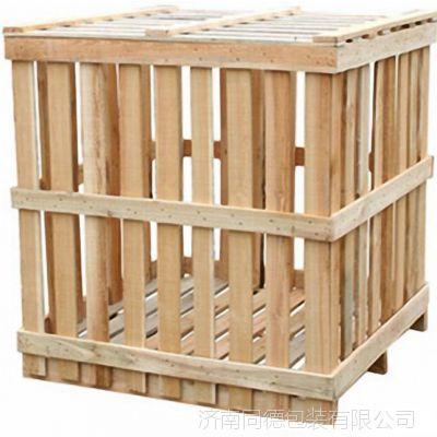 山东厂家加工定制框架木箱 胶合板木箱 托盘包装箱