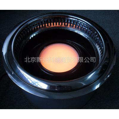 供应光波红外线无烟电烤炉AYK-20A11/双核芯/下排烟