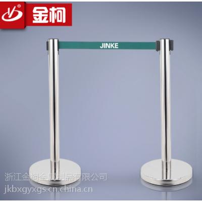 供应杭州银行一米线lg-001b不锈钢围栏大堂5米栏杆座定做