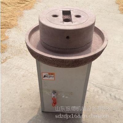 振德供应商用电动石磨豆浆机 90型号不锈钢米浆石磨机价格