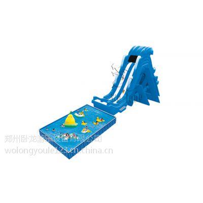 郑州卧龙推出惊险刺激适合中青年群体水乐园必备飞人水滑梯