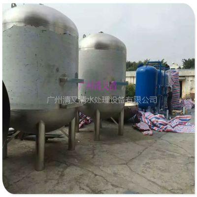 广西南宁不锈钢石英砂过滤罐 东兴市大流量软化过滤罐体 规格大小可定制