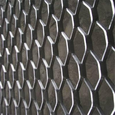 重型扩张金属板网 中重型钢板网 旺来菱形钢板网规格表