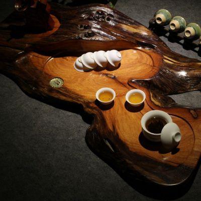 供应实木整块茶盘 红木花梨木根雕茶几 越柬紫檀木 功夫茶茶具 特价