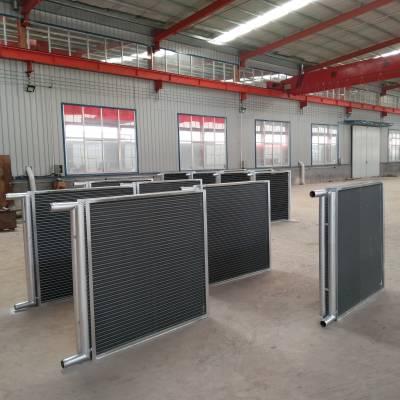 厂家专业订做中央空调机组铜管铝翅片表冷器、换热器、散热器、加热器、暖气片