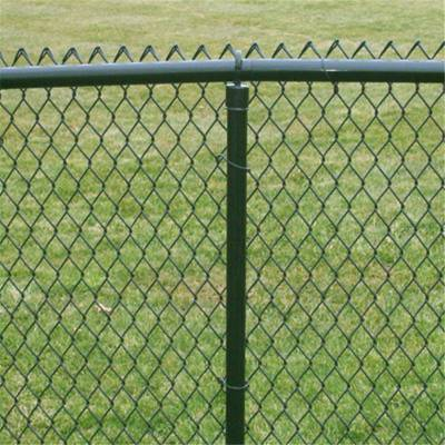 旺来镀锌丝勾花网 编织勾花网 体育场围网