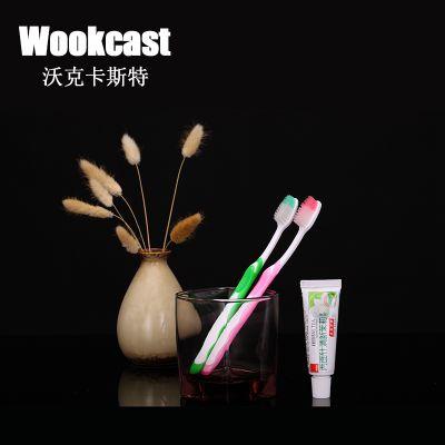 wookcast一次性牙刷 高档酒店宾馆软毛家居旅行成人牙具批发定制