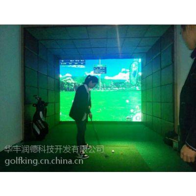 供应润德进口联网室内高尔夫模拟器(RD-A3)
