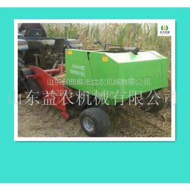 批发低价稻草回收打捆机 玉米秸秆回收打捆机益农供货地址