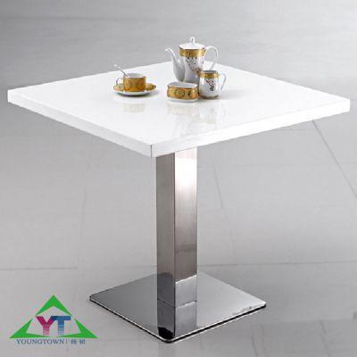 广东茶餐厅家具,简约大理石餐桌,餐厅餐桌,专业选扬韬!