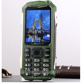 电信路虎军工4G手机个性天翼CDMA超薄老人机防水 4G手机 5100毫安