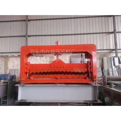 吉林四平小波浪彩钢设备 压瓦机厂家