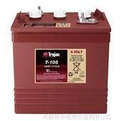 厂家直销美国原装TROJAN蓄电池 自动洗地机电池 T-105 电动车蓄电池 6V185AH