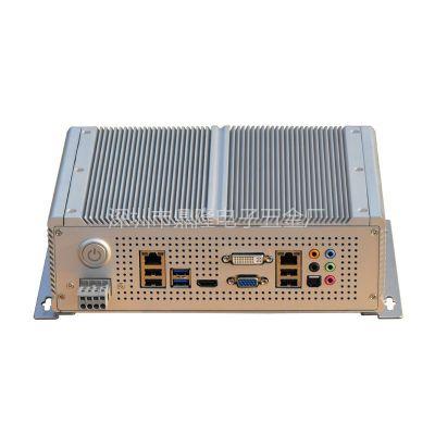 供应拓普龙嵌入式无风扇机箱,装mini-ITX主板,SSD,ATX-DC直插电源模块