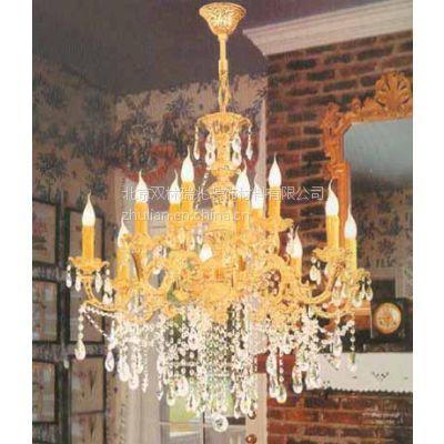 精品推荐欧式豪华客厅吊灯别墅水晶蜡烛灯灯非标工程定制灯批发销售