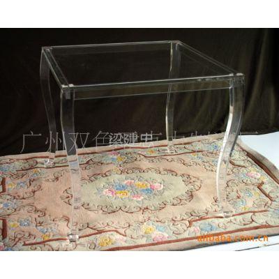 供应亚克力双色家居.广告桌子 有机玻璃几桌 亚克力家具