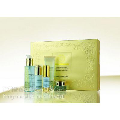 香莹化妆品OEM贴牌加工皮肤管理美白保湿补水控油祛痘套盒玻尿酸集水套盒